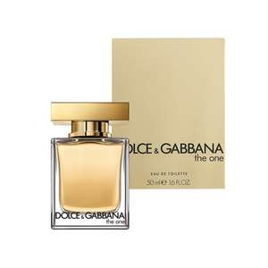 Dolce & Gabbana The One Eau de Toilette Spray 50ml £29.00 using discount codes + Free UK mainland delivery @ Beauty Base