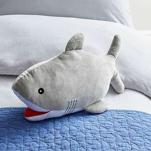 Shark 3D Cushion - 47cm x 26cm - £2.80 (Unicorn, Bear, Moon, Star also available) - (Free Click and Collect) @ Dunelm