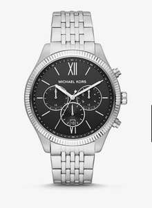 Michael Kors Oversized Benning Silver-Tone Watch MK8692 Now £107 Free delivery @ Michael Kors