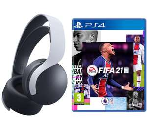 SONYPULSE 3D Wireless PS5 Headset & FIFA 21 Bundle - £79.99 delivered @ Currys PC World