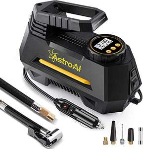 AstroAI Digital Tyre Inflator, Portable Air Compressor (Yellow) £20.01 - Sold by AstroAI Corporation EU and Fulfilled by Amazon.