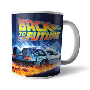 Two mugs for £8 with free delivery (e.g. Officially licenced Back to the Future mugs) @ IWOOT
