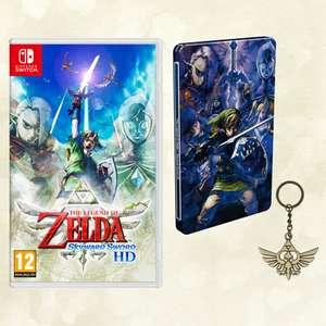 The Legend Of Zelda: Skyward Sword HD + Steelbook and Keyring £42.85 @ ShopTo
