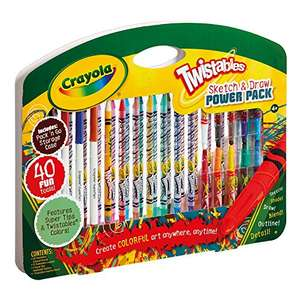 Crayola Twistables Sketch and Draw Power Pack Now £7 Amazon Prime (+£4.49 Non Prime)