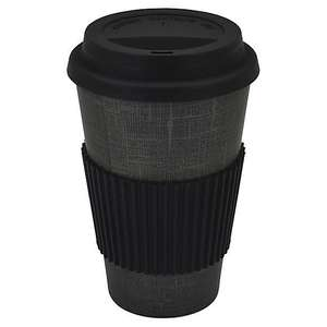 Bamboo Monochrome 475ml Travel Mug - £1.25 ( with free click and collect ) @ Dunelm. ( More offers in the OP )
