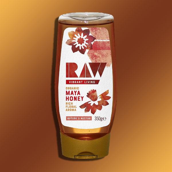 6 x Raw Health Organic Maya Honey - 350G Squeezy bottles - £10 @ Yankee Bundles