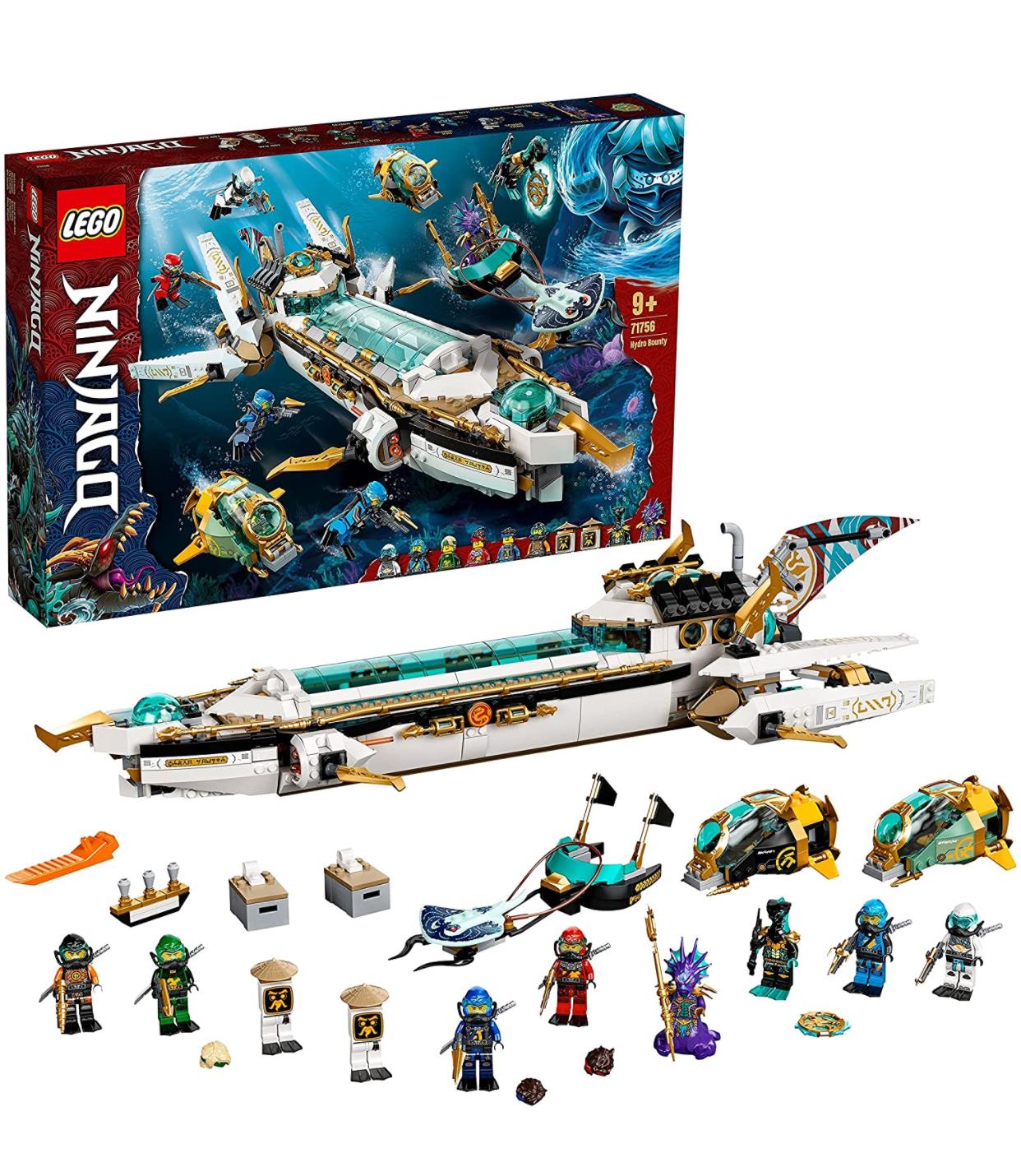 LEGO Ninjago 71756 Hydro Bounty Set - £87.99 /LEGO DUPLO 10939 T. rex and Triceratops Dinosaur Breakout - £22.39 with code @ Zavvi