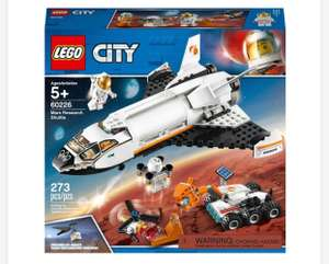 LEGO City 60226 Mars Research Shuttle Space Toy £16.99 Free Click & Collect @ Smyths