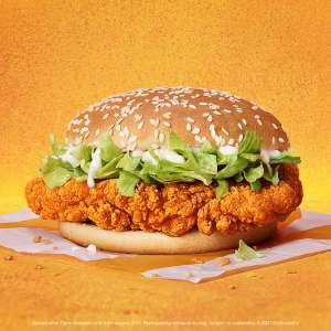 Free Bottle of Organic Semi-skimmed Milk with the McSpicy burger for £5.49 on McDonalds app (invite only)