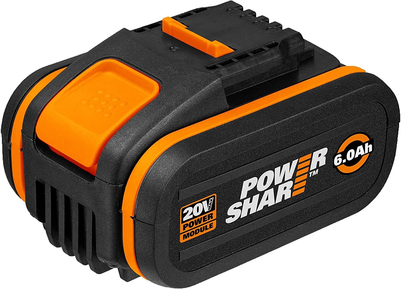 WORX WA3641 20V 6.0Ah Lithium Battery Powershare Battery platform £69.99 at Amazon