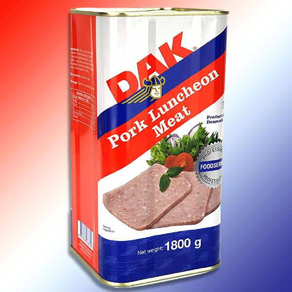 DAK Danish Pork Luncheon Meat Giant 1800g Tin for £6 delivered @ Yankee Bundles