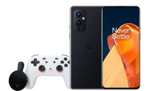 Oneplus 9 128GB Smartphone (120hz / Snapdragon 888 / Hasselblad Cameras) + Free Google Stadia Premiere - £549 With Code @ Oneplus