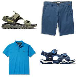50% on Sandals, Polos and Shorts + 10% Off with code + Free UK Mainland Delivery & Free Returns @ Timberland