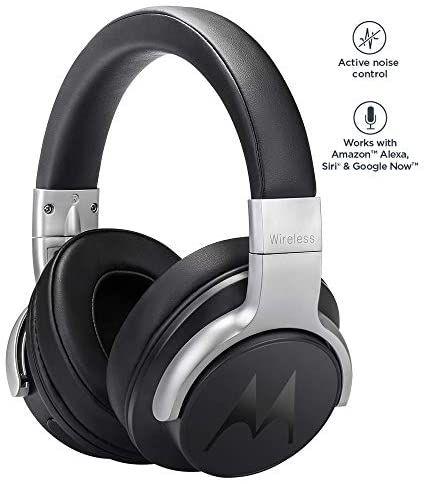 Motorola Escape 500 ANC - Wireless Headphones with Active Noise Cancelling - £14.99 (+£4.49 Non-Prime) @ Amazon