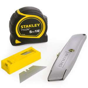 Stanley 99E Promotional Knife Triple Pack £6 +£5 delivery @ ITS