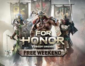 For Honor Free Play Weekend - All Platforms [PS4 / PS5 / Xbox One / Series X|S / PC] @ Ubisoft