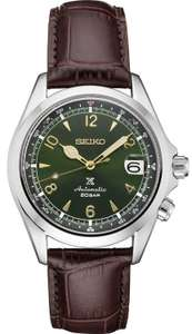 """SEIKO PROSPEX Men's Brown Leather """"Alpinist"""" Automatic Watch £552.50 (£497.25 with WELCOME10) Hillier Jewellers"""