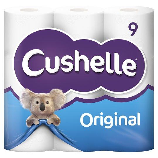 Cushelle 9 pack Toilet Rolls @ Tesco Braunton - £1.11