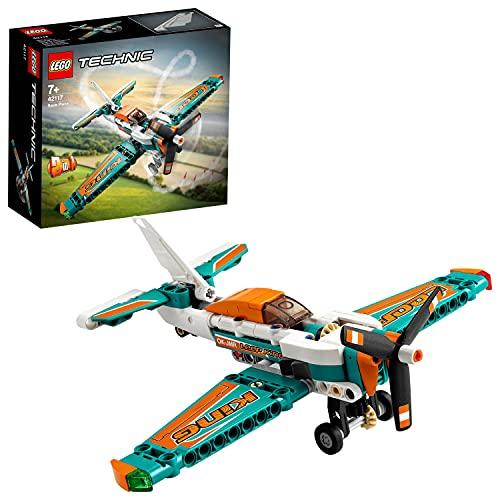 LEGO Technic 42117 Race Plane Toy to Jet Aeroplane 2 in 1 £6 (Prime) + £4.49 (non Prime) at Amazon
