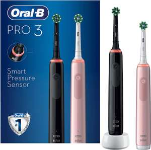Oral-B Pro 3 - 3900 - Black & Pink Electric Toothbrushes - £44.55 Delivered ( click and collect free ) @ Boots.