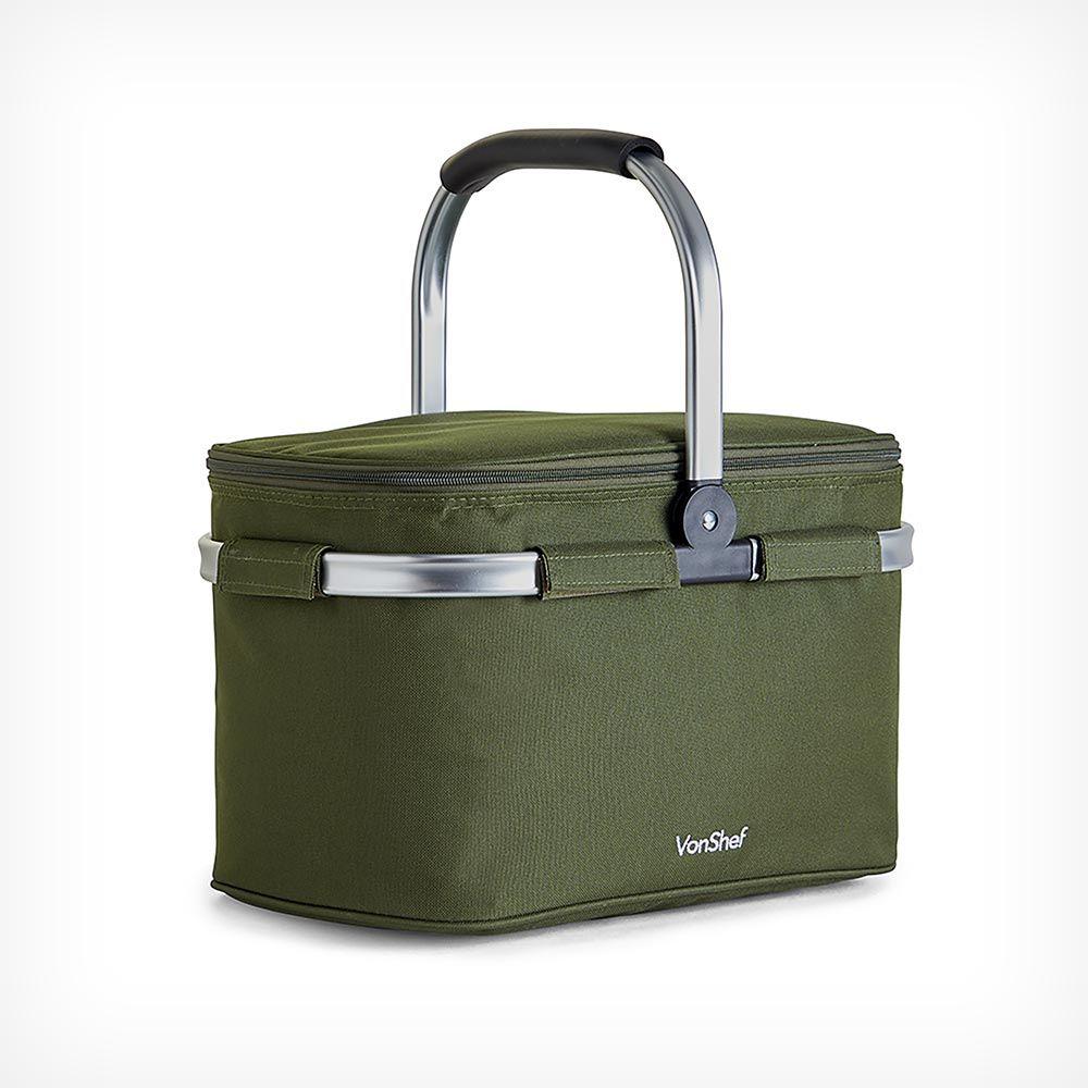 VonShef Large 22 litre collapsible cooler bag for £11.99 delivered (UK Mainland) @ VonShef
