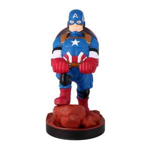 Cable Guys - Avengers Captain America + other characters for £10.95 each @ The Game Collection