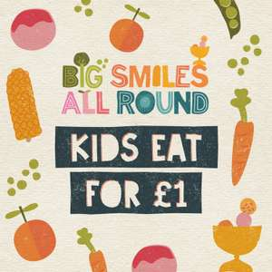 Kids Eat for £1 with an Adult Meal Purchase @ farmhouse inns