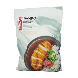 Yutaka Panko Bread Crumbs, 1 kg, Pack of 1 - £5.99 - Sold by Parkers Foodservice Limited @ Amazon