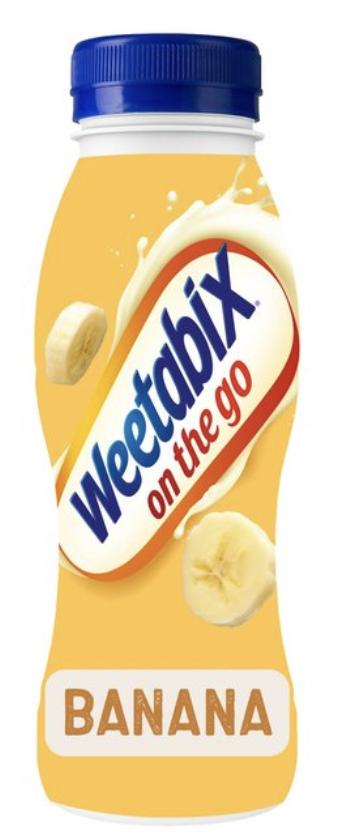 Weetabix On the Go Breakfast Drink Banana 250ml - 75p @ Morrisons