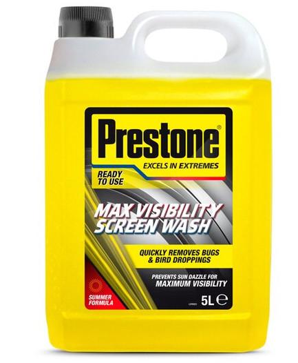 Prestone Max Visibility Screenwash 5L for £2.50 (Clubcard) @ Tesco