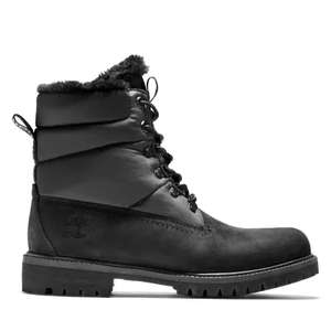 Heritage Faux Fur Puffer Boot for Men in Black £85 Timberland Shop