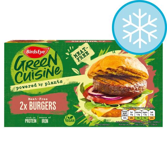 Birds Eye 2 Meat Free Burgers 200G - Free (Clubcard Price & Voucher Code) @ Tesco