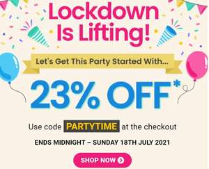 23% off with code at Buyagift