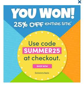 25% off entire site with code @ Build-a-Bear Workshop