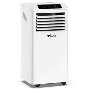 Vida Portable Air Conditioner 5000BTU 3 in 1 Air Cooler Remote Control, 24 Hour Timer & Window Vent Kit £210.49 delivered @ Ebuyer