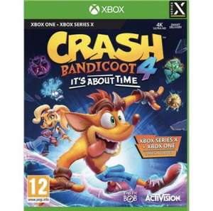 Crash Bandicoot 4 It's About Time Xbox One Download Code £27.99 @ CDKeys