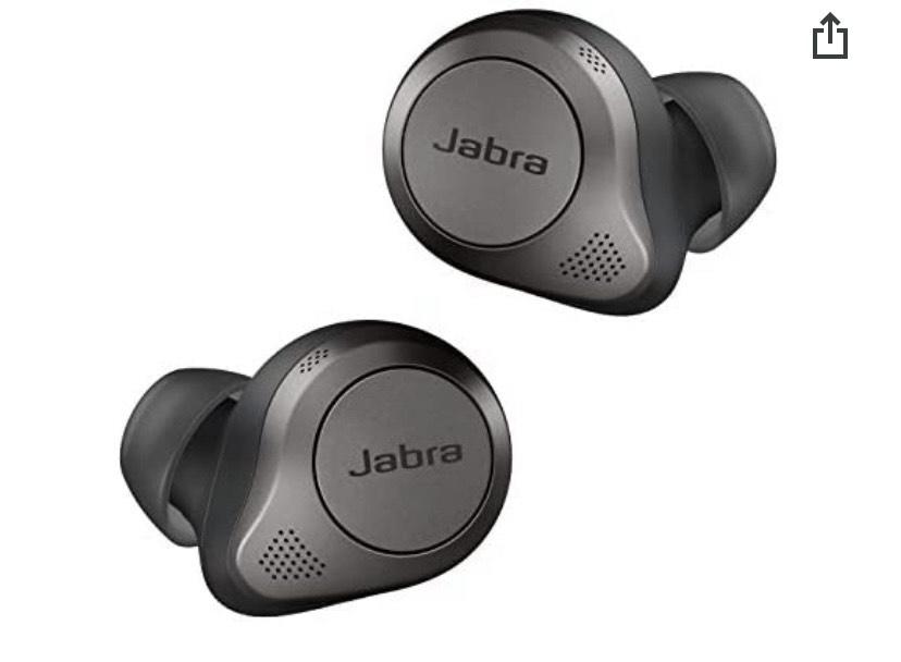 Jabra Elite 85t True Wireless Earbuds - Titanium Black £146.42 @ Amazon
