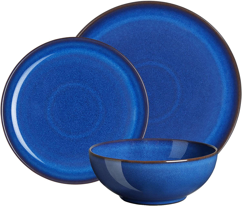 Denby Imperial Blue 12 Piece Coupe Set £79.20 @ Amazon