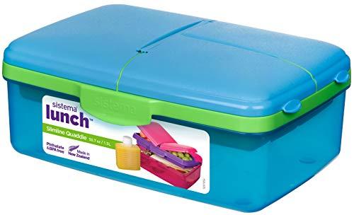 Sistema Lunch Slimline Quaddie 1.5L - Assorted Colors £4 @ Amazon