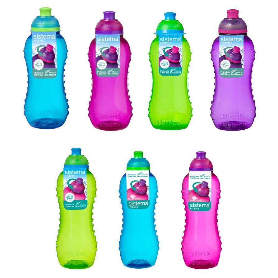 Sistema Twist 'n' Sip Water Bottle Assorted Colours, BPA-Free 330ml £1.25 each / 460ml £1.50 each @ Asda