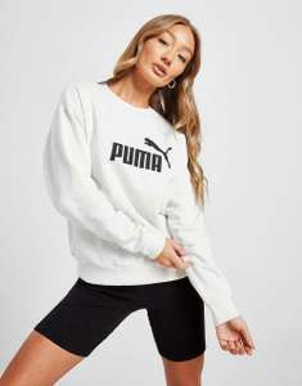 Puma Women's Core Crew Long Sleeve Sweatshirt White / Black £10.19 delivered @ JD Outlet /eBay