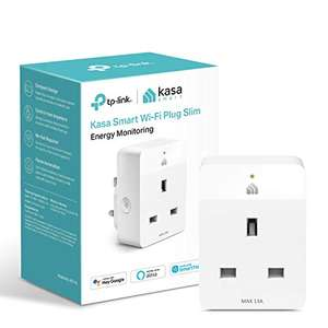 KP115 Kasa Mini Smart Plug by TP-Link, WiFi Outlet with Energy Monitoring £10.99 (+£4.49 non-prime) @ Amazon