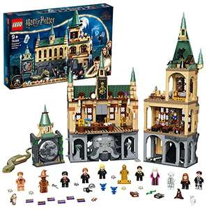 LEGO 76389 Harry Potter Hogwarts Chamber of Secrets Modular Castle Toy with The Great Hall, Collectible Golden Minifigure £88.47 at Amazon