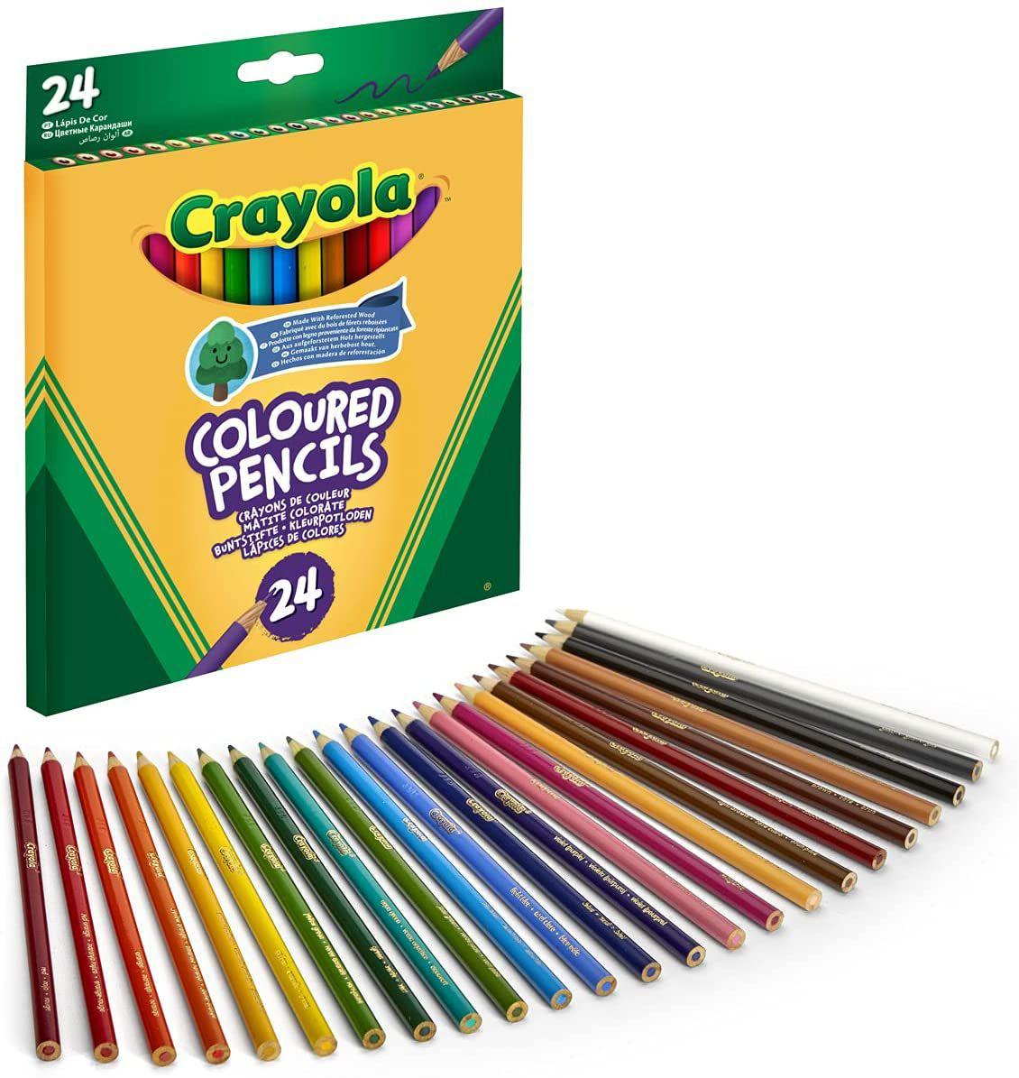 Crayola - 24 Crayola Coloured Pencils £2.25 @ Amazon prime (+£4.49 non prime)