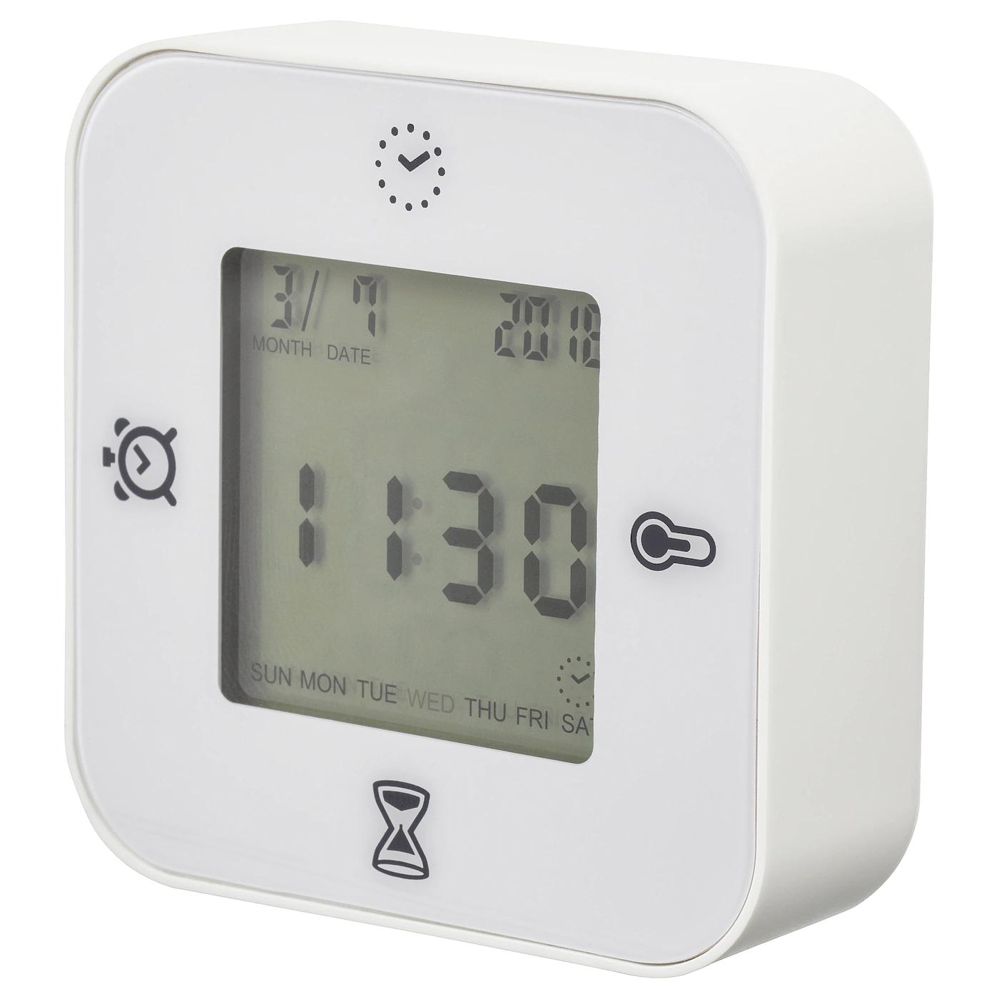 KLOCKIS Clock/thermometer/alarm/timer £3 instore @ Ikea