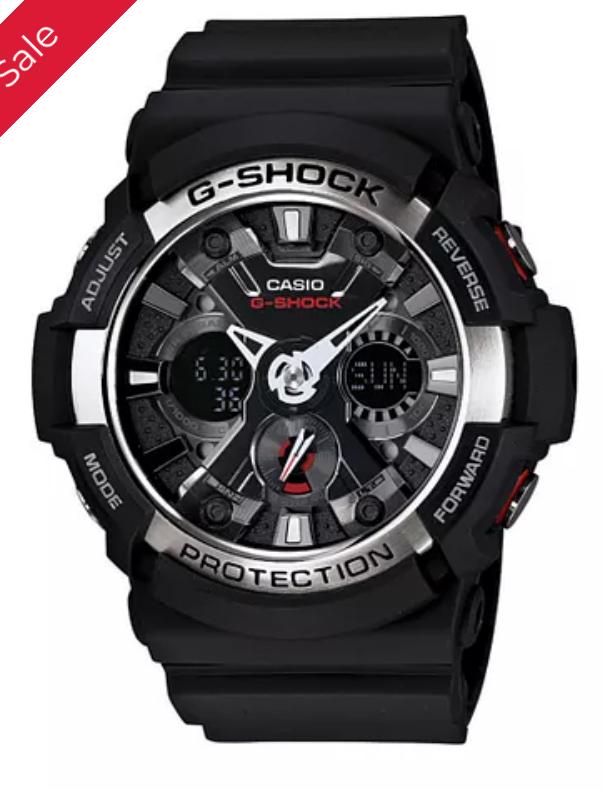 Casio G-Shock Model number: GA-200-1AER £60 with code @ H Samuel