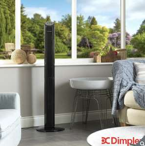Dimplex Mont Blanc Cooling Tower Fan Black £44.89 (Membership Required) @ Costco.co.uk