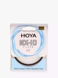 HOYA NX-10 UV Camera Lens Filter, 40.5mm £9.75 @ John Lewis & Partners - £2 click & collect / £3.50 delivery