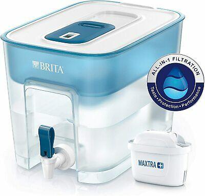 BRITA Flow Water Filter Tank 8.2L Fridge Dispenser Jug + 1 Maxtra+ Cartridge - £23.99 with code @ first.person.medical eBay
