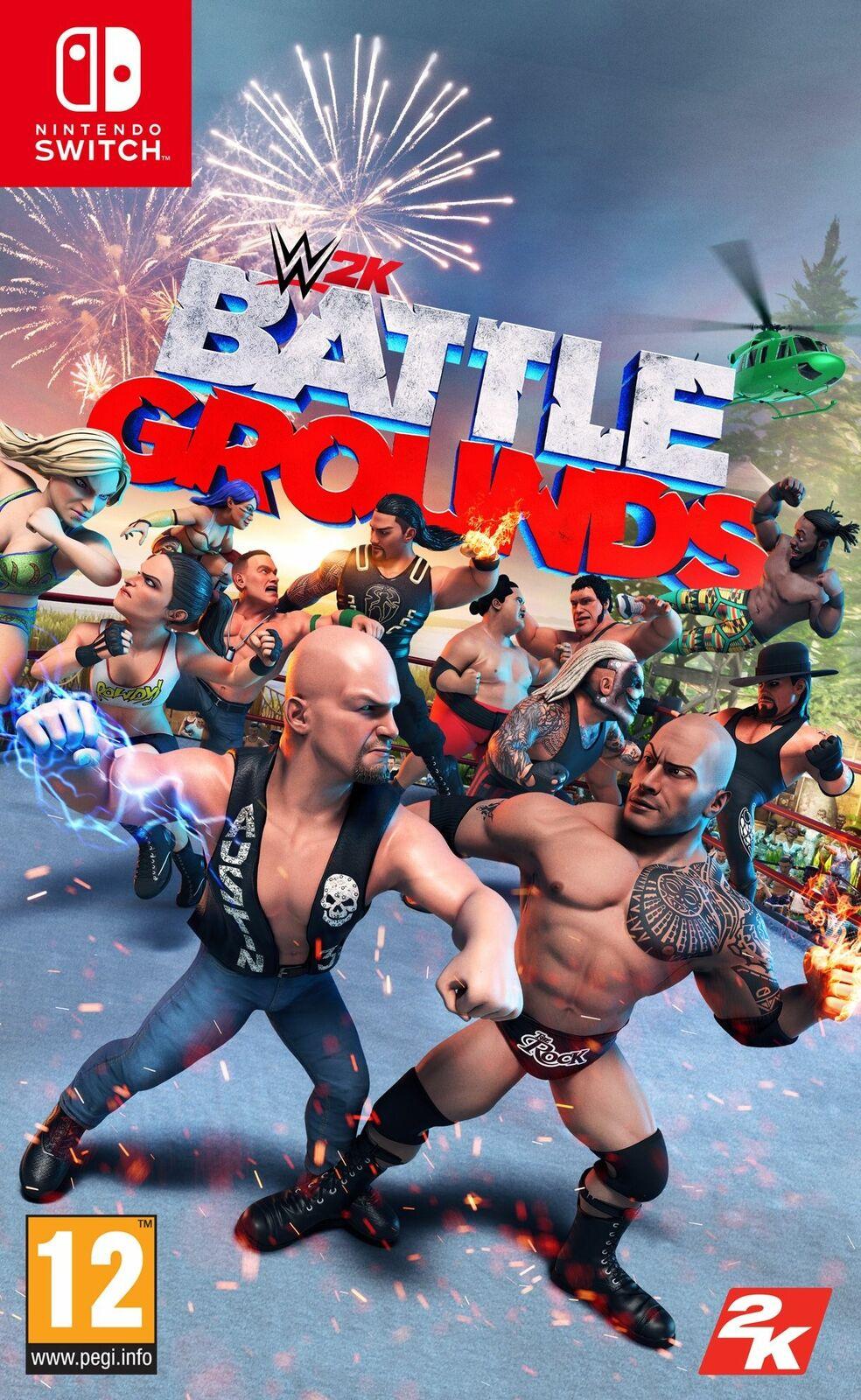WWE 2K Battlegrounds (Nintendo Switch) - £8.79 delivered Using Code (UK Mainland) @ Boss_deals / eBay